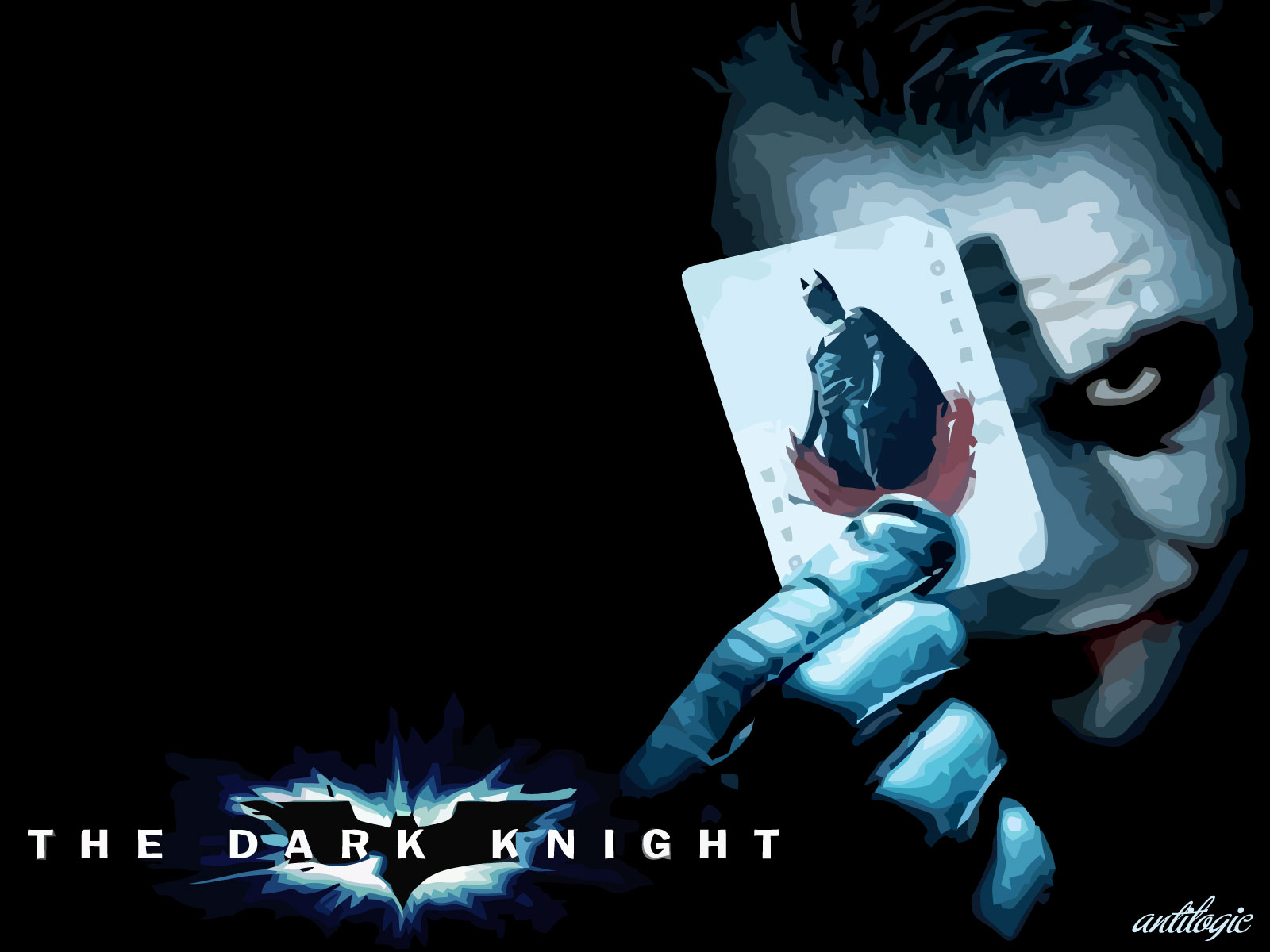 Batman – The Dark Knight Wallpaper – The Joker | Antilogic